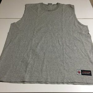 Vintage Nike Men XL Gray Basketball Tank Top Shirt